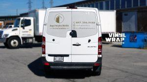 Mercedes Sprinter Bluetec 2015 - Vinyl WrapToronto.com - Vehicle Decals - Vinyl Wrap Toronto - Promotional - Back
