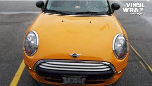 Mini Cooper Hardtop Decals - VinylWrapToronto.com - Vehicle Decals - Car Decals - Vinyl Wrap Toronto - Dragon - Before