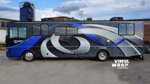 RV Custom Full Wrap - Vinyl Wrap Toronto - Avery Dennison - VinylWrapToronto.com - Vehicle Wrap Side