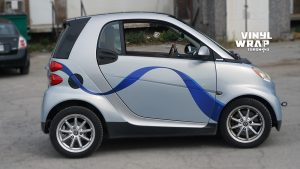 Smart Car ForTwo - 2008 - Vehicle Decals - Personal - After - Side