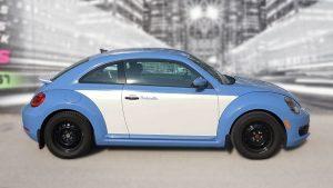 Volkswagen Beetle - Full Wrap - Personal - Disney - Cinderella Theme - Avery Dennison - Vinyl Wrap Toronto - After - Side