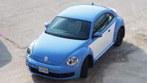 Volkswagen Beetle - Full Wrap - Personal - Disney - Cinderella Theme - Avery Dennison - Vinyl Wrap Toronto - After - Top