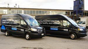 Ford Transit Passenger 250 - VinylWrapToronto.com - Vehicle Decals - Vinyl Wrap Toronto - After Both