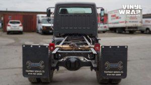 Freightliner M2 - 2020 - Full Truck Wrap - Lettering & Decals - Best Truck Wrap in Toronto - Vinyl Wrap Toronto - Back