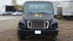 Freightliner M2 - 2020 - Full Truck Wrap - Lettering & Decals - Best Truck Wrap in Toronto - Vinyl Wrap Toronto - Front