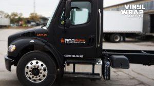 Freightliner M2 - 2020 - Full Truck Wrap - Lettering & Decals - Best Truck Wrap in Toronto - Vinyl Wrap Toronto - Side