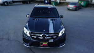 Mercedes GLE 350D - VinylWrapToronto.com - Racing Stripes - Vehicle Wrap - Decals - Car Wrap in Toronto - Front