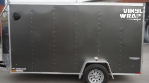 Trailer Full Wrap - VinylWrapToronto.com - Custom Design - Avery Dennison - Ken Bennington - Best Vehicle Wraps in Toronto - Before