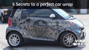 5 Secrets to a perfect car wrap - Smart Car fortwo - Full Car wrap - Vinyl Wrap Toronto - Custom Car Wrap