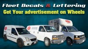 Fresh & Clean - Fleet Decals & Lettering - Vinyl Wrap Toronto - Avery Dennison - Best Vehicle Wrap in Toronto