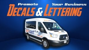 Ford Transit 2018 - Commercial Decals and Lettering - Aerospot - Parking Near Airport - Avery - Vehicle Wrap - Cover - Car wrap cost