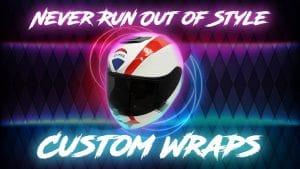 Object Wrap - Personalize your Objects with a vinyl wrap - VinylWrapToronto.com - Avery Dennison - Helmet Wrap - 3m Vinyl Wrap