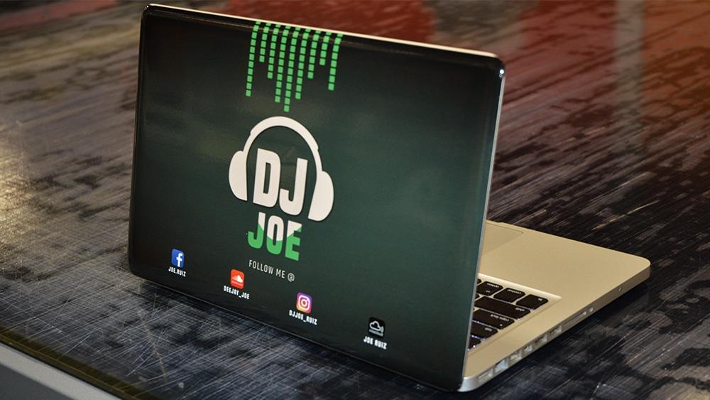 Object-Wrap-Vinyl-Wrap-Toronto-Macbook-Pro-DJ-Joe-Custom-Design-Equipment-Wrap-Etobicoke
