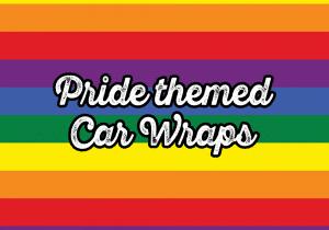 Pride-themed car wraps - Vinyl Wrap Toronto - Custom Car Wraps in GTA - VinylWrapToronto.com - Lettering & Decals